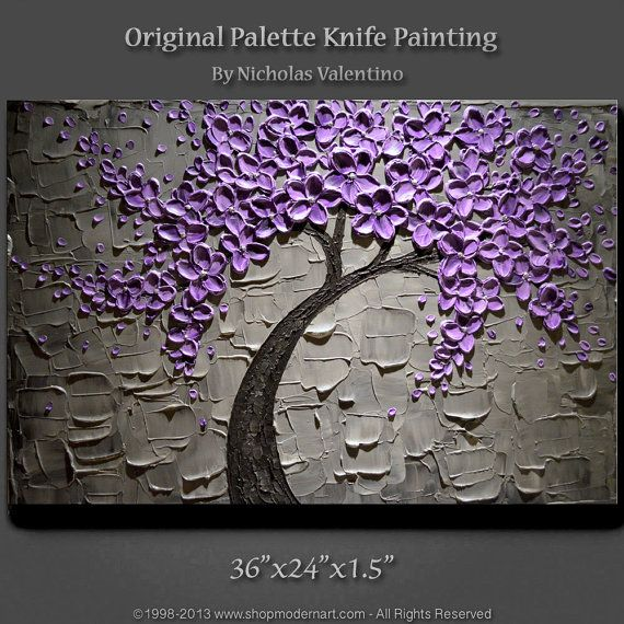 large 36 x24 original textured impasto painting on. Black Bedroom Furniture Sets. Home Design Ideas