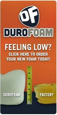 Auto Upholstery | Leather Seat Covers | Foam Cushions | Durofoam Driver Bottom Foam Cushion | Seats and Seat Covers