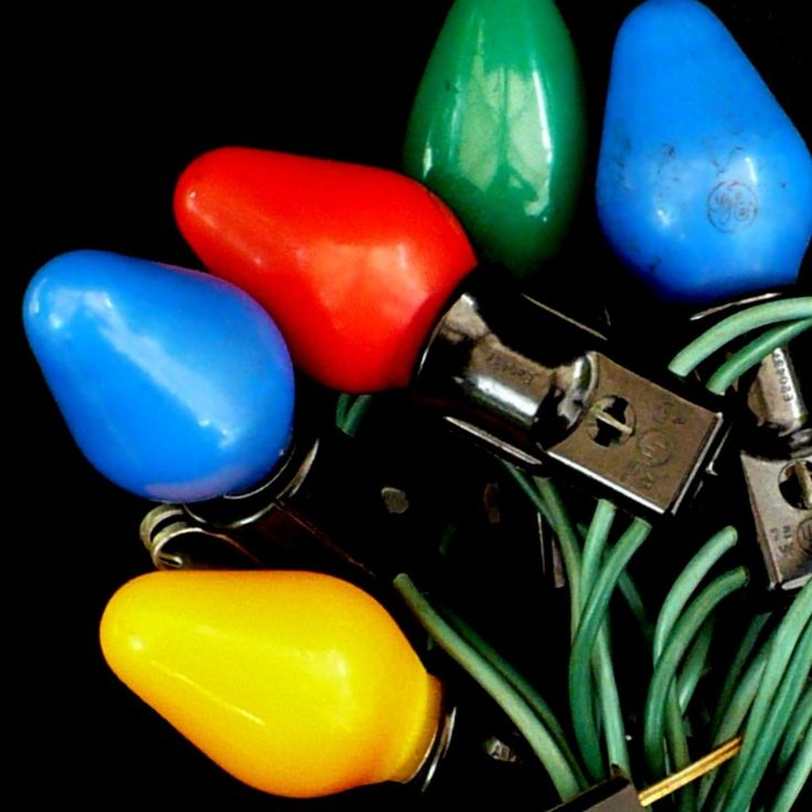 1000 Images About Vintage Christmas Lights On Pinterest