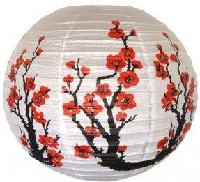 Resultado de imagen para paper sakura lamps