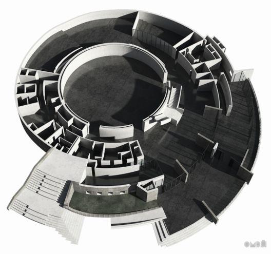 Video: Renovación del Planetario de Bogotá,Modelo 3D. Image © Andrea Stinga