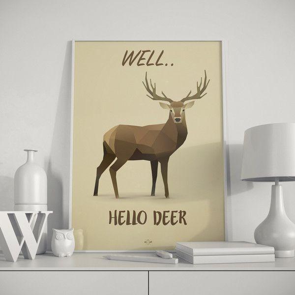 Deer - Pun Quotes - Hipd.dk