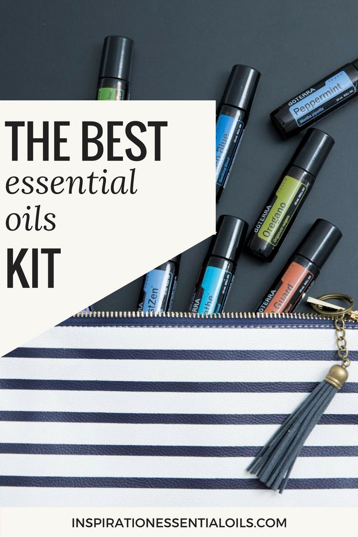 The Best Essential Oils Kit - First aid, family kit, emotional support, business starter kit.