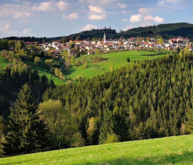 Kašperské Hory in Šumava region, Czechia
