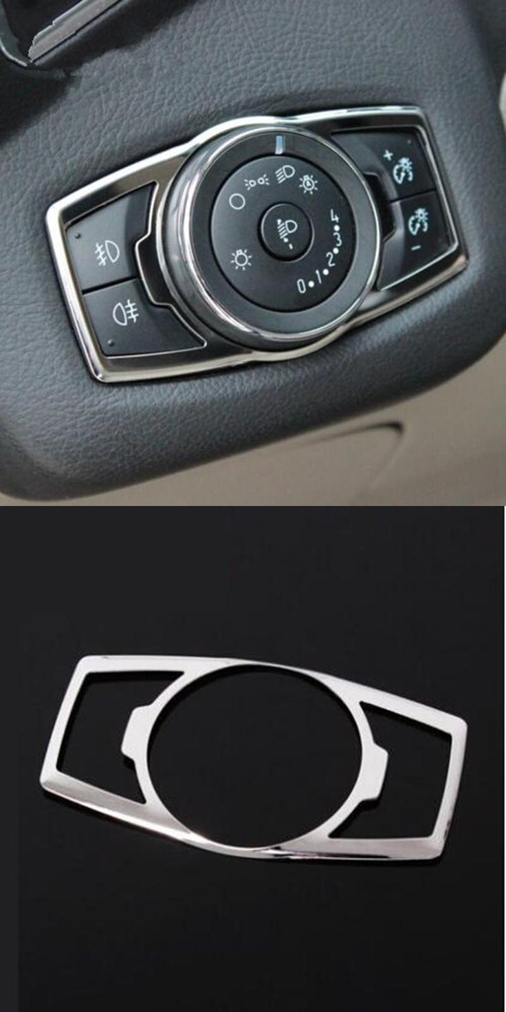 visit to buy stainless steel headlight switch decorative sequins cover for ford focus 3