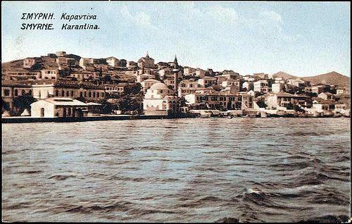 Karpostallarda yangından önce İzmir, Karantina   by Hakan Akçura
