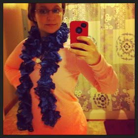Sashay scarf alternate method