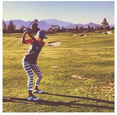 Women's golf outfit #golf #fashion // Pipeline Marketing @Hunter Nicholas you need this!