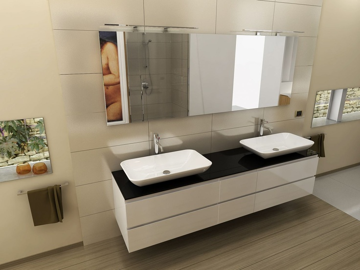 20 best arredo bagno images on Pinterest | Bathroom, Bathrooms and ...