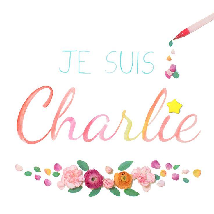 JE SUIS CHARLIE et a jamais | Le blog des Nympheas