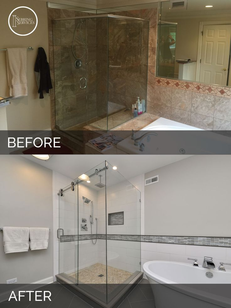 Bathroom Before And After 48 best before & after: bathroom remodeling projects images on