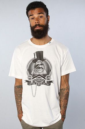 LRG The Robber Barrons Slim Fit Tee in White : Karmaloop.com - Global Concrete Culture