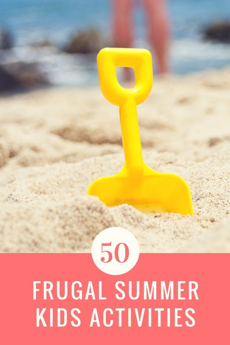 Summer activities for frugal mommies that are a lot of fun for their children!