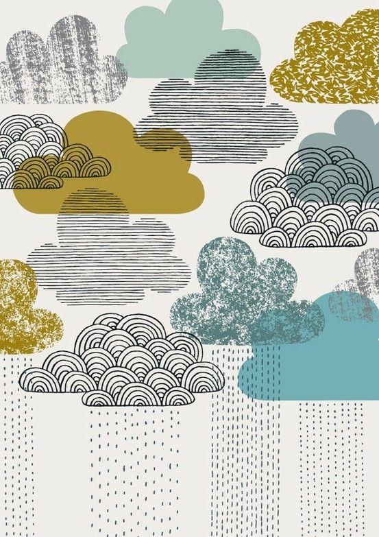 colours, clouds