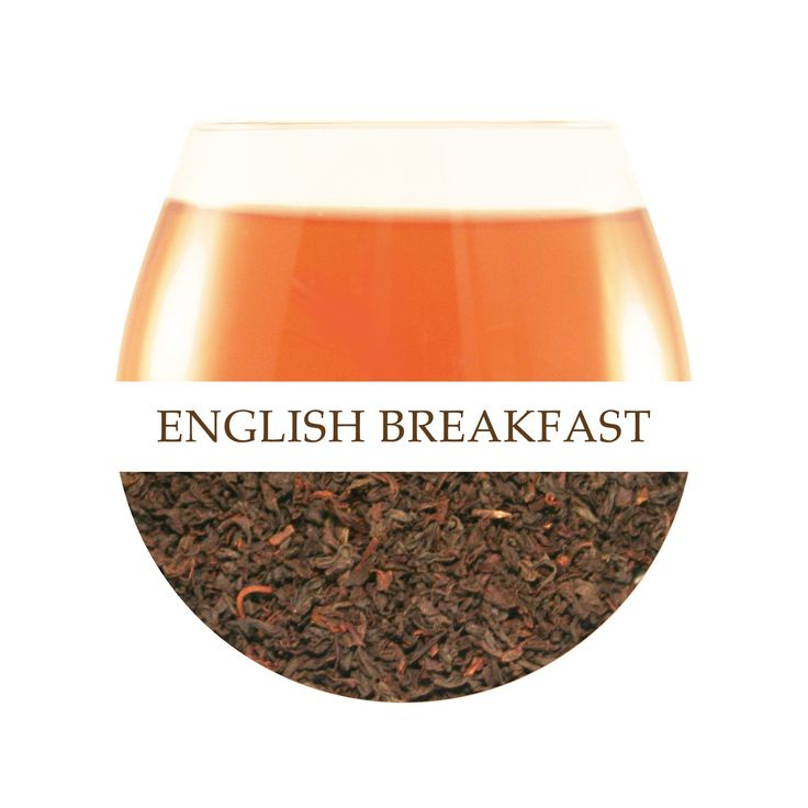 English Breakfast Tea - A blend of the finest Black Teas from Assam and Sumatra. $15 Tin