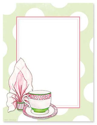 tea party cover border google search backgrounds pinterest