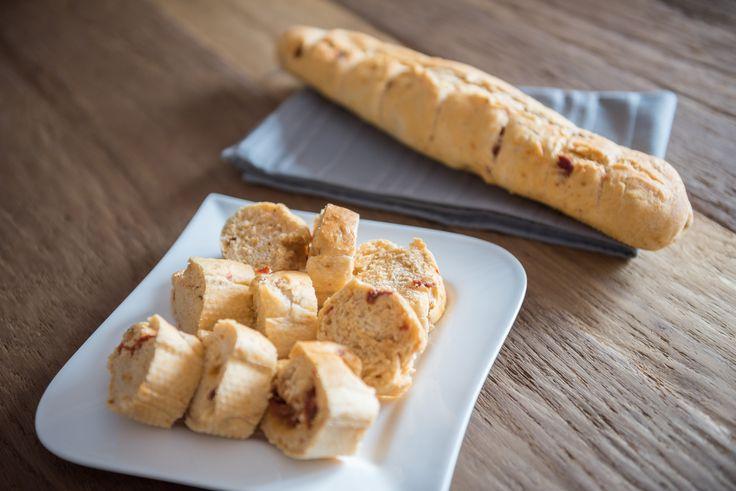 Mediterrane Baguettes ohne Gehzeit