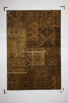 """""""Best Buying Guide And Review On Patchwork 03 Abstract Traditional Brown Beige Rug """""""