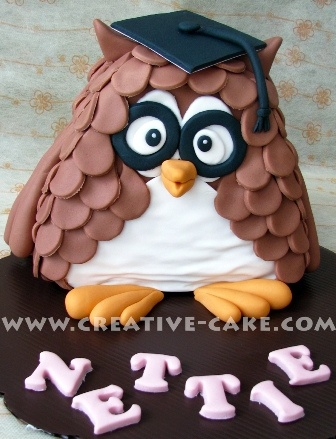Graduation Owl Cake: Graduation Cakes, Graduation Cupcakes Decor, Graduation Owl, Owl Cakes Lov, Cakes Laura, Cakes Cakes, Graduation Ideas, Cupcakes Cak, Cakes Lov Owl