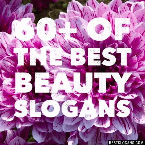 Catchy & creative free beauty slogans for women, including skin care & makeup related slogan ideas. Lipstick & makeup artist slogans.