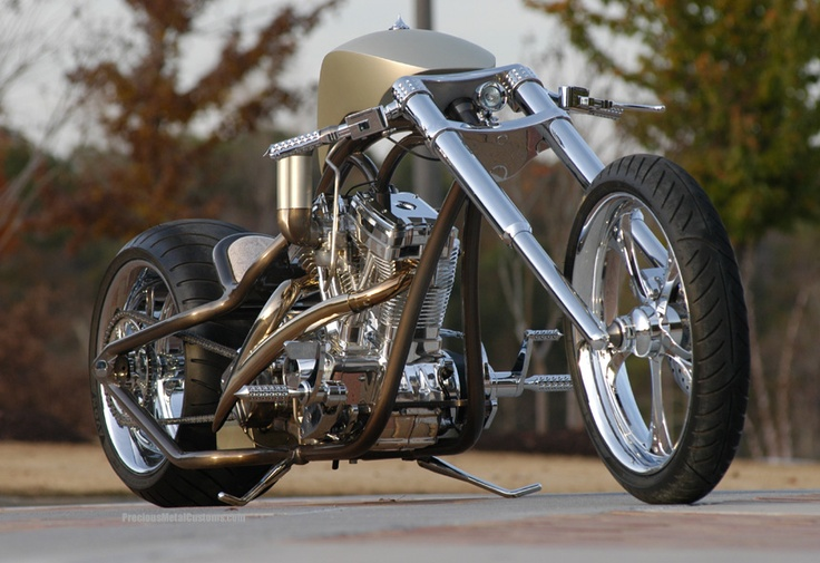 Precious Metal Customs - Hundred Grand | Custom Bikes ...