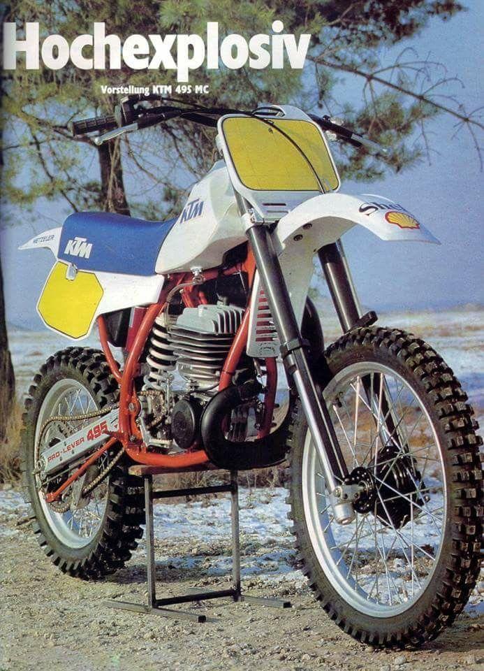 Pin By Raffaele Fina On Vintage Mx Ktm Enduro Motorcycle Vintage Bikes