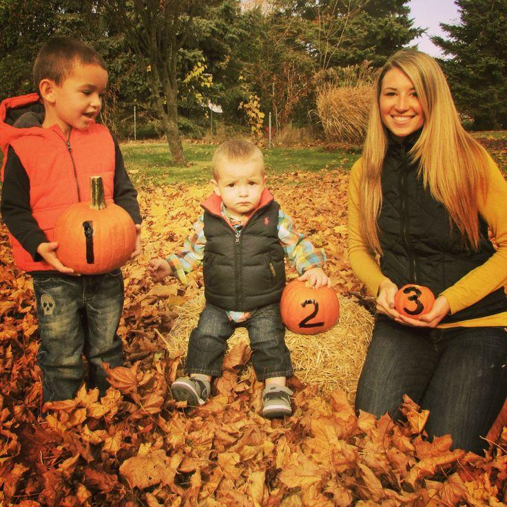 Our fall pregnancy announcement :)