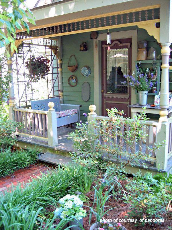 Veranda bauernhaus  Die besten 25+ Victorian outdoor gliders Ideen auf Pinterest ...