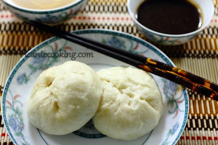 Китайские паровые булочки со свининой ( Char Siu bao)