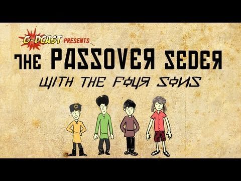 A great video for children to watch about Passover!