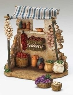 "Produce Stand For Fontanini® 5"" Scale"