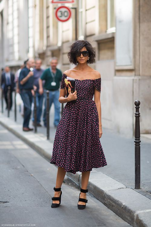 crazy about this off the shoulder dress