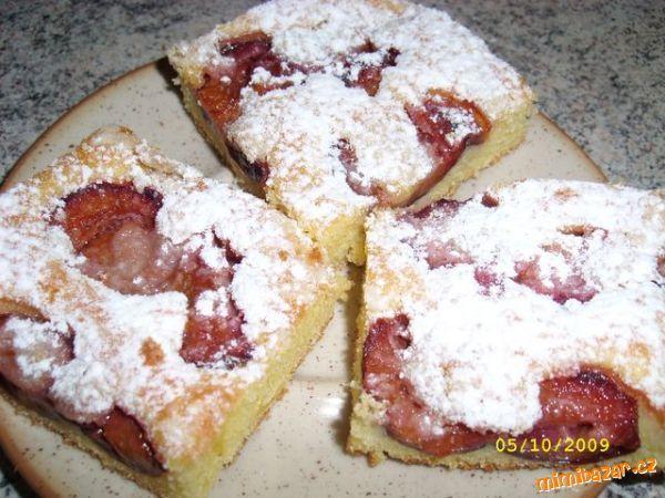 Švestkový koláč - hrnkový