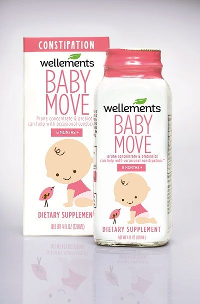 Wellements Baby Move is a natural sweet tasting formula made with organic prune concentrate and prebiotics. Our safe and gentle formula can help your infant or toddler with occasional constipation