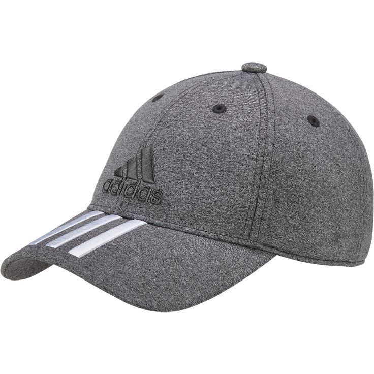 The adidas 3 Stripe Baseball Cap offers added style and sport substance no matter when you intend to wear.