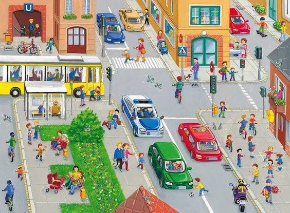 Катюша-колобуша: Жизнь города - вимельбухи.: