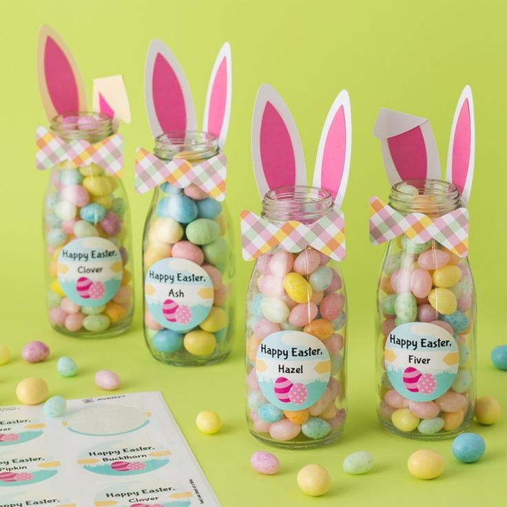 Get Your Easter DIY Crafts Hopping With This Cute Favor Idea Kids And Adults Alike