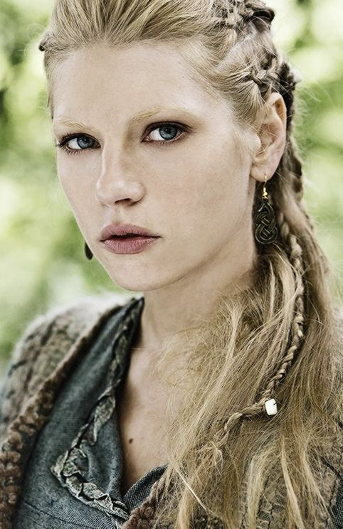 Lagertha, Katheryn Winnick, Vikings  Also a true badass in real life. Look her up. She could kick your ass!
