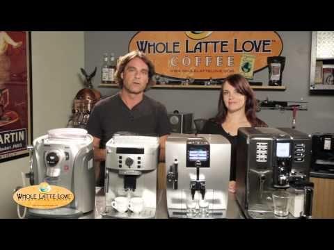 Learn about Super-Automatic Espresso Machines