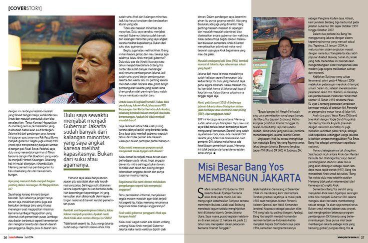 Majalah Jakarta Review, halaman 26-27