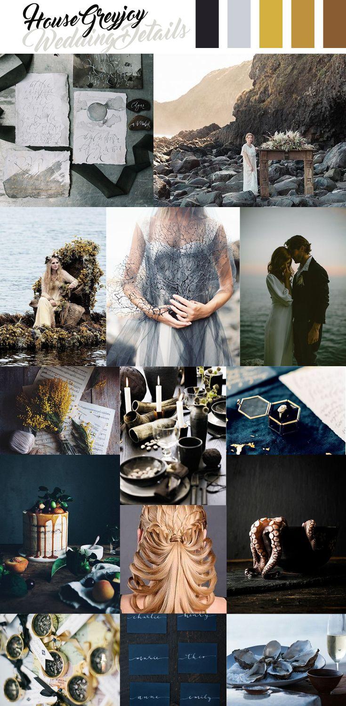 House Greyjoy Wedding Inspiration, Game of Thrones