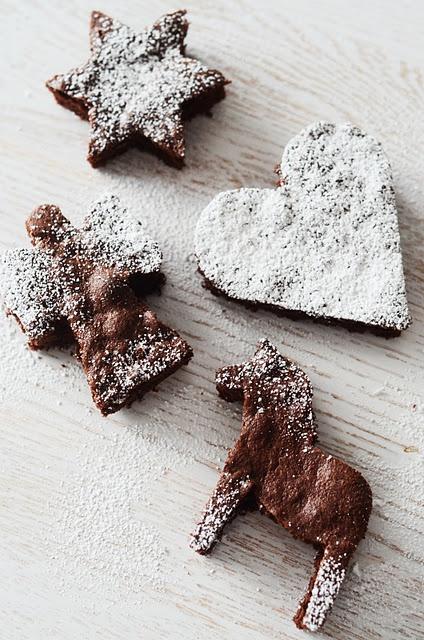 ♥Christmas Brownies, Christmas Baking, Sugar Cookies, Brownies Ideas, Chocolates Cookies, Holiday Cookies, 0C03052A308D37Xljpg 424640, Chocolate Cookies, Cookies Cutters