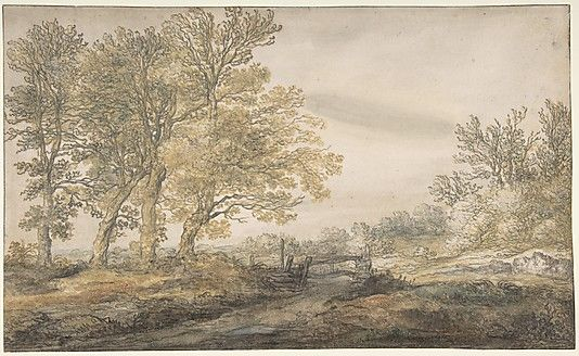 Landscape with Trees - Aelbert Cuyp