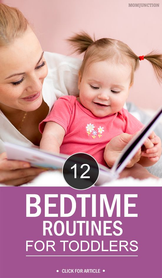 12 Best Bedtime Routines For Toddlers