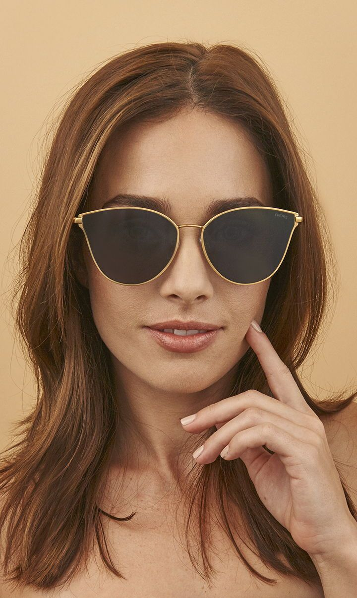 276046c866866 Meet Ivy. Sleek modern cat eye sunglasses designed in Chicago by FREYRS  Eyewear.