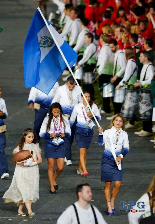 Very nice jacket ... from my country (El Salvador) olimpic team