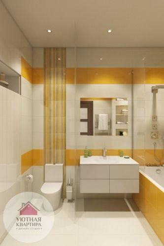 Ванная Душевая Туалет - Дизайн интерьера - фото - Категория: Ванная Душевая Туалет - Изображение: Дизайн интерьера ванной