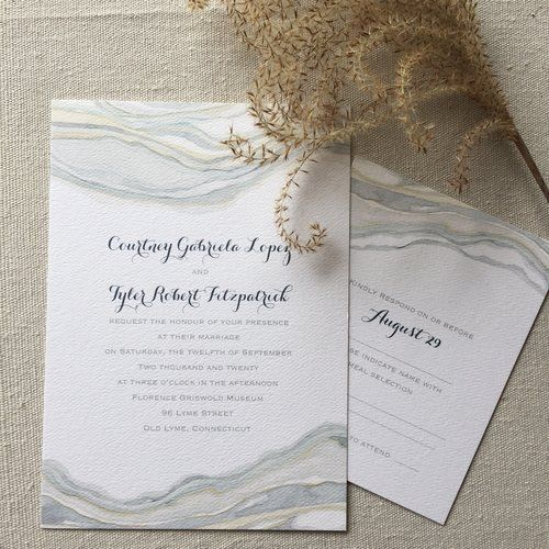 Sandstone Wedding Invitation Collection Designed By Shell Rummel For Carlson  Craft