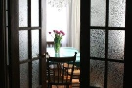 15 Brilliant French Door Window Treatments - http://www.interiordesign2014.com/other-ideas/15-brilliant-french-door-window-treatments/