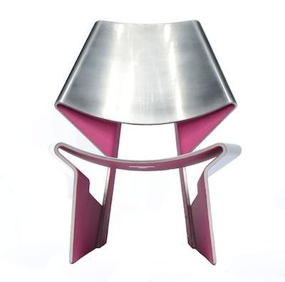 Pink Jalk Project GJ Chair designed by: Stephanie Goto
